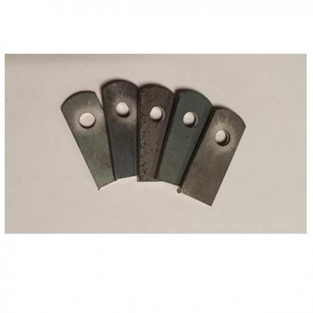 Support à souder plat 12x30 ép 2mm