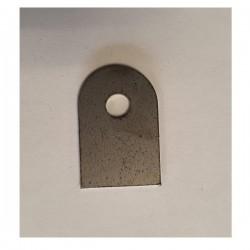 Support à souder plat 20x30 ø6 ép 2mm