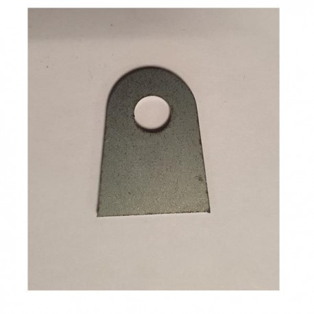 Support plat à souder 25x32 ép 2mm
