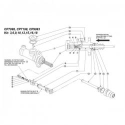 Kit de réparation pour maîtres cylindres CP9093