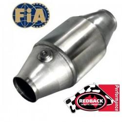 Catalyseur compétition REDBACK FIA ø127-76 TURBO Haute température