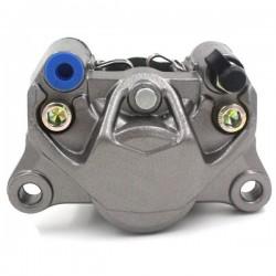 Etrier avant XTREMPERF gris identique au BREMBO, 2 pistons, entraxe fixation 84 mm