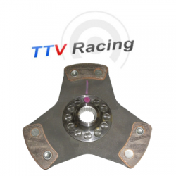 Disque embrayage 3 patins ø184 mm métal fritté TTV RACING