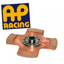 Disque embrayage 4 patins ø184 mm métal fritté AP RACING