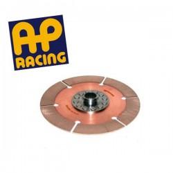 Disque embrayage 6 patins rigide ø184 mm métal fritté AP RACING