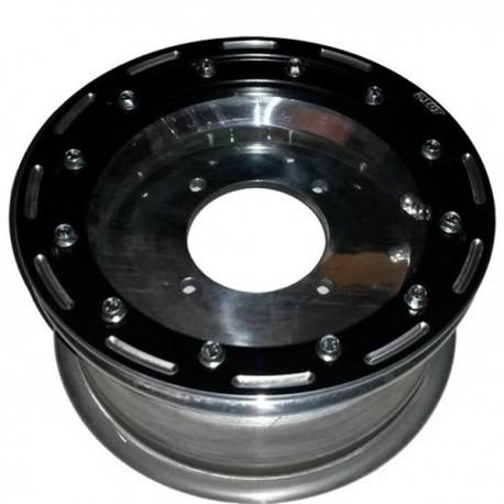 Jante beadlock 6x10 4x100 déport 4+2 60 mm