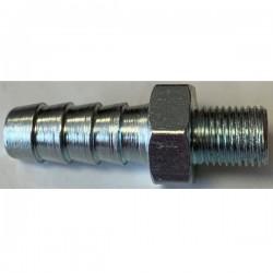Adaptateur acier 10x100 pour tuyau de 10 mâle/mâle