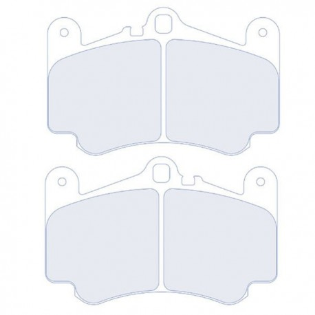 plaquette de frein CL Brakes 4078