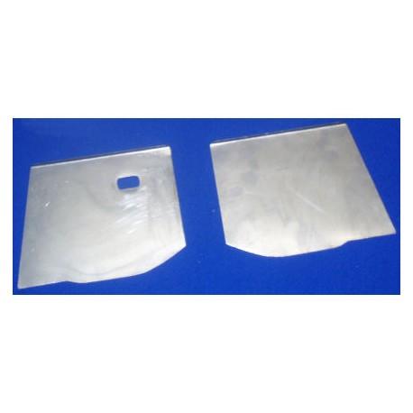 Paire de plaques latéral cloison avant Escort Mk1/Mk2