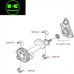 Coussinet équilibreur pour Kawasaki ER6