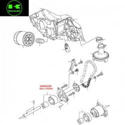 Rotor de pompe à huile ZX900C pour Kawasaki ER6