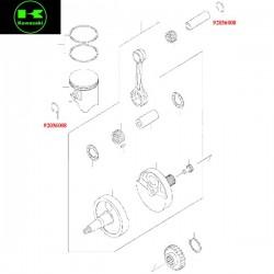 Circlips d'axe de piston pour Kawasaki ER6