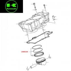 Jeu de segment de piston pour Kawasaki ER6