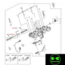 Vis de tuyau d'injection pour Kawasaki ER6