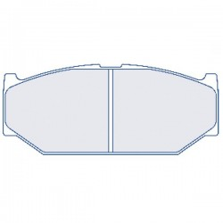 plaquette de frein CL Brakes 4163