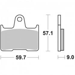 Plaquette de frein moto SBS765HF