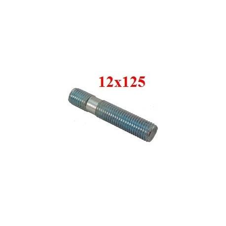 Goujon double filetage identique 12x125