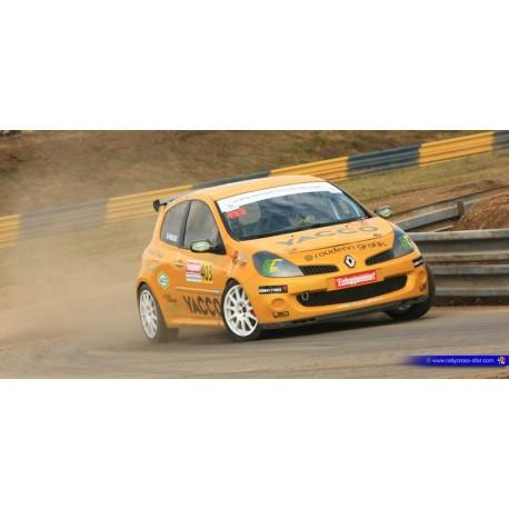 pare brise Renault Clio 3 Margard 5 mm