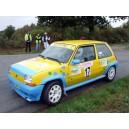 vitre porte avant Renault Super 5