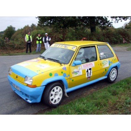 pare brise Renault Super 5 Margard 5 mm