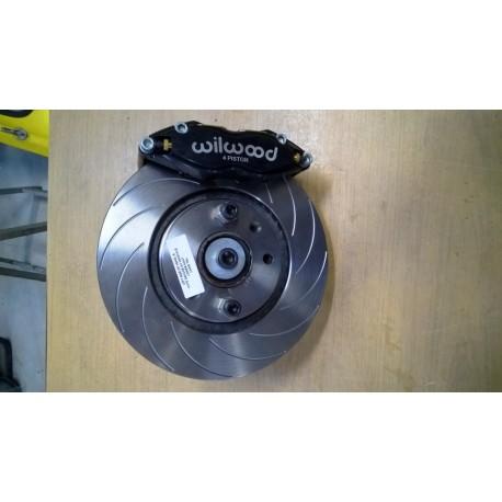 Kit gros frein avant 283 mm Wilwood 4 pistons - POLYCAR CONCEPT SPORT -  Vente de pièces et accessoires pour la compétition