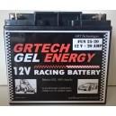 Batterie au GEL 12V - 20Amp 100% étanche