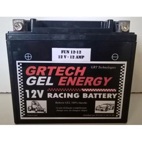Batterie au GEL 12V - 12Amp 100% étanche