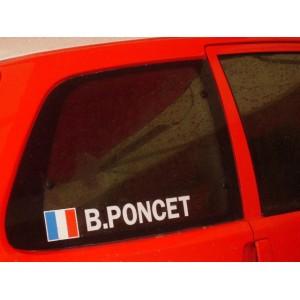 Vitre custode arrière Citroën Saxo