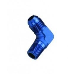 Adaptateur 90° dash8 - 3/8NPT