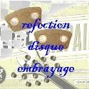 Réfection disque embrayage