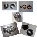 Rotules, coussinets et accessoires