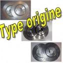 Disques de frein type ORIGINE