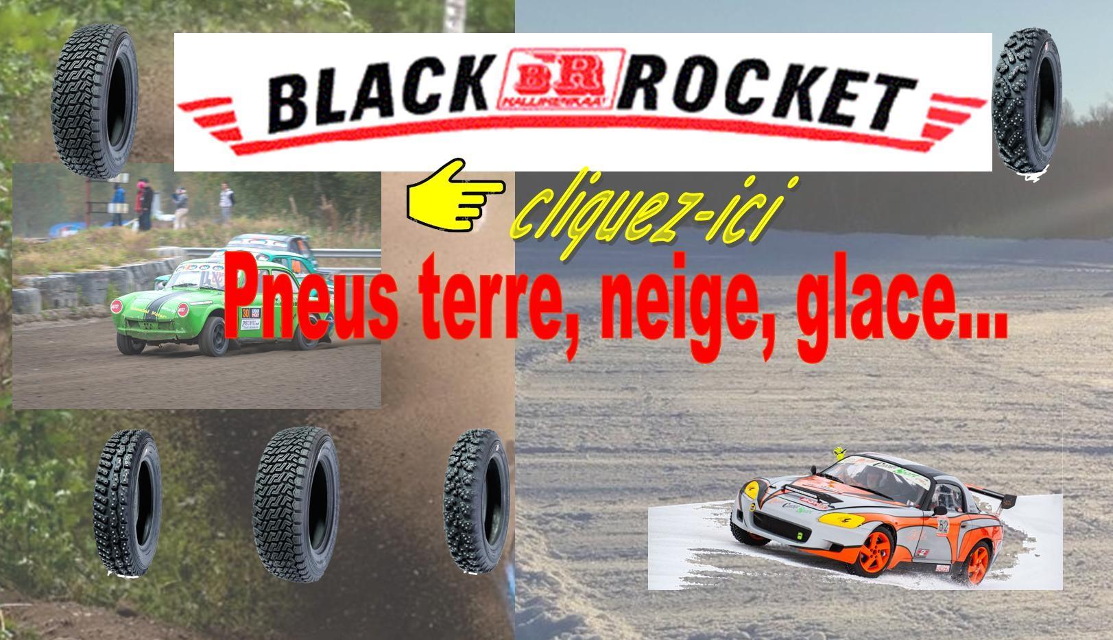 Pneus Black Rocket