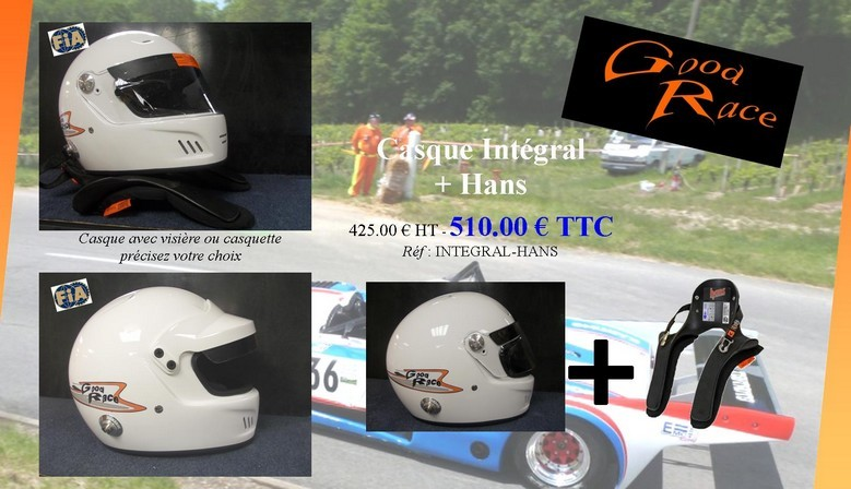 Les packs casques FIA GOOD RACE