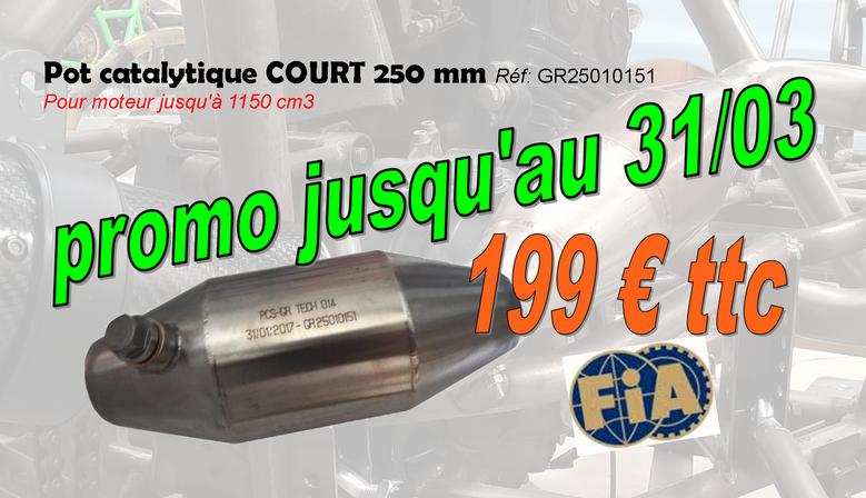 catalyseur FIA développé par POLYCAR CONCEPT SPORT