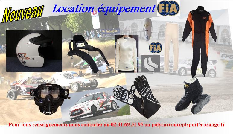 Profitez de prix attractif pour la location d'équipement FIA